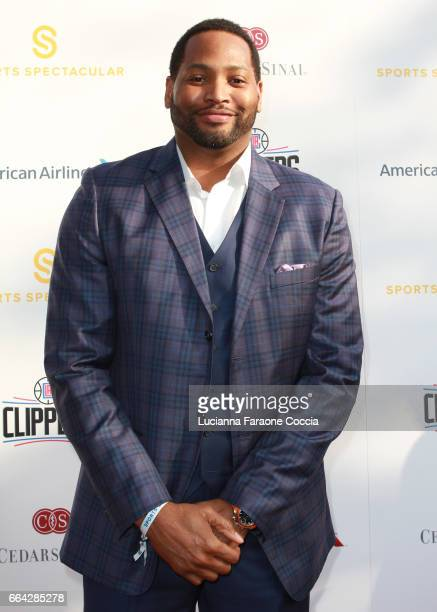 Sports commentator/former NBA player Robert Horry attends the 32nd Annual CedarsSinai Sports Spectacular Gala at W Los Angeles Westwood on April 3...