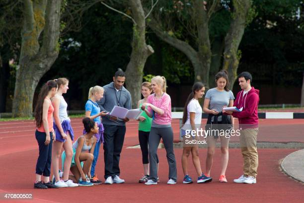Sports Day Team Meeting