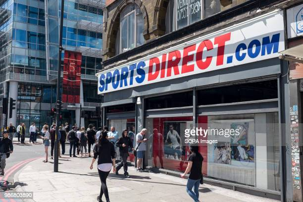 Sports Direct shop in central London London is the Capital city of England and the United Kingdom it is located in the south east of the country in...