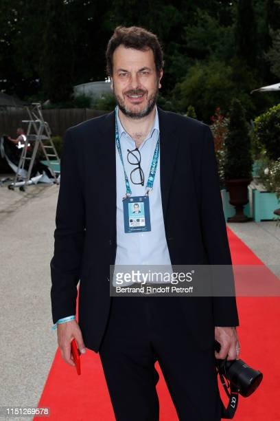 Sports Director at France Television LaurentEric Le Lay attends the 2019 Tennis French Open Women's and Men's Singles Draw at the Orangerie of the...