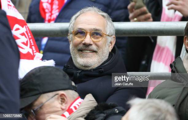 Sports Director of Marseille Andoni Zubizarreta during the french Ligue 1 match between Stade de Reims and Olympique de Marseille at Stade Auguste...