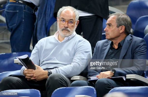 Sports Director of Olympique de Marseille Andoni Zubizarreta attends the UEFA Nations League A group one match between France and Germany at Stade de...