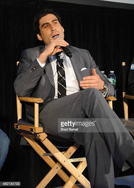 Sports Director of Programming Peter Nelson attends the HBO Latino's Choose Your Esquina 24/7 Cotto/Martinez Event at Copacabana on June 5 2014 in...