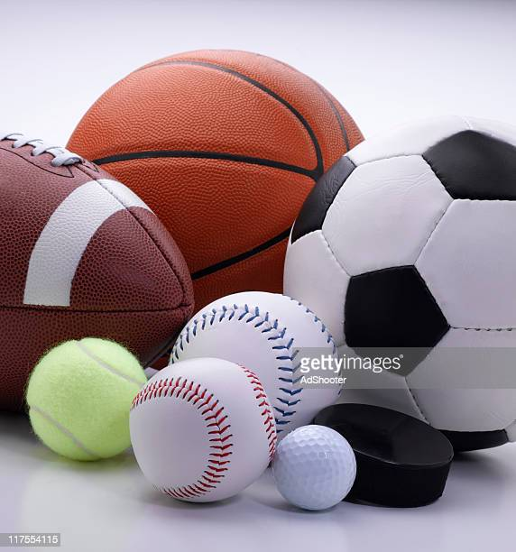 sports equipment - sports ball stock pictures, royalty-free photos & images
