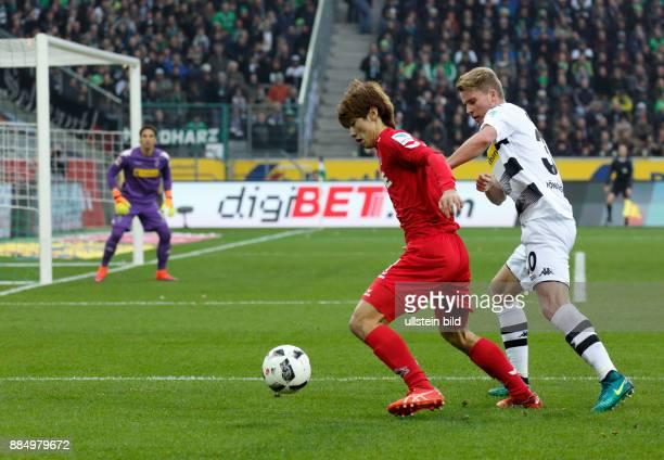 sports football Bundesliga 2016/2017 Borussia Moenchengladbach versus 1 FC Koeln 12 Stadium Borussia Park scene of the match Yuya Osako in ball...