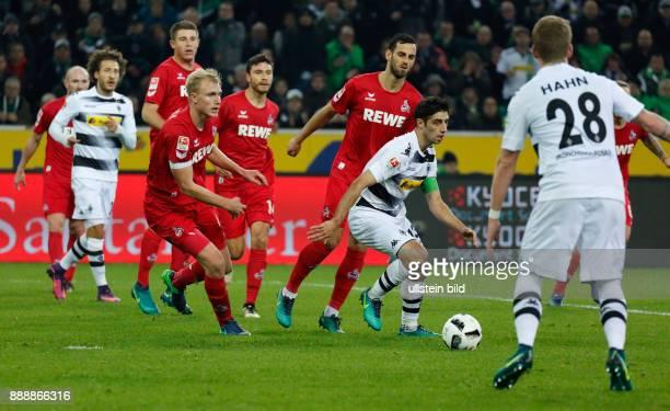 sports football Bundesliga 2016/2017 Borussia Moenchengladbach versus 1 FC Koeln 12 Stadium Borussia Park scene of the match fltr Konstantin Rausch...