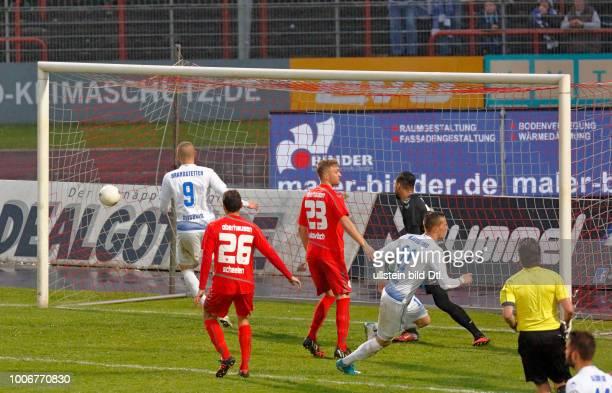 sports football Lower Rhine Cup 2016/2017 semifinal Rot Weiss Oberhausen vs MSV Duisburg 03 Stadium Niederrhein in Oberhausen scene of the match 03...