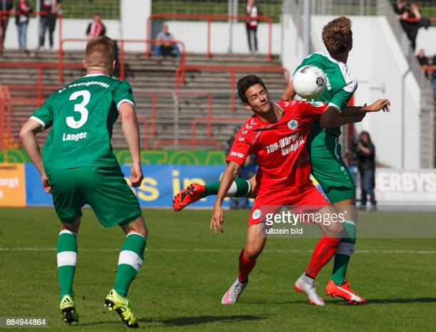 sports football Regional League West 2015/2016 Rot Weiss Oberhausen versus SV Roedinghausen 20 Stadium Niederrhein in Oberhausen scene of the match...