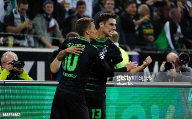 sports football UEFA Champions League 2016/2017 Group Stage Group C Matchday 2 Borussia Moenchengladbach versus FC Barcelona 12 Stadium Borussia Park...
