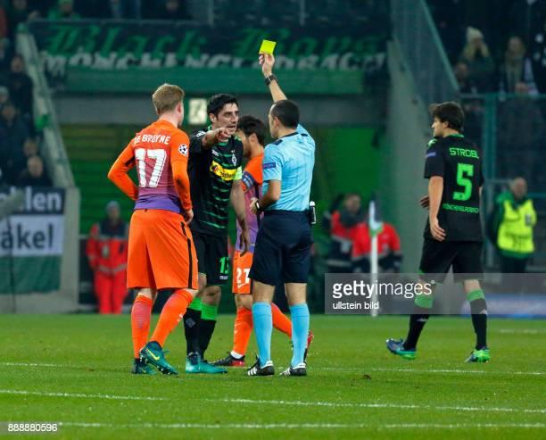 sports football UEFA Champions League 2016/2017 Group Stage Group C Matchday 5 Borussia Moenchengladbach vs Manchester City FC 11 Stadium Borussia...