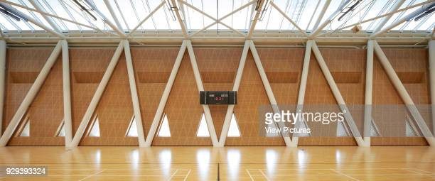Sports hall interiors Masdar City Masdar City United Arab Emirates Architect various 2014
