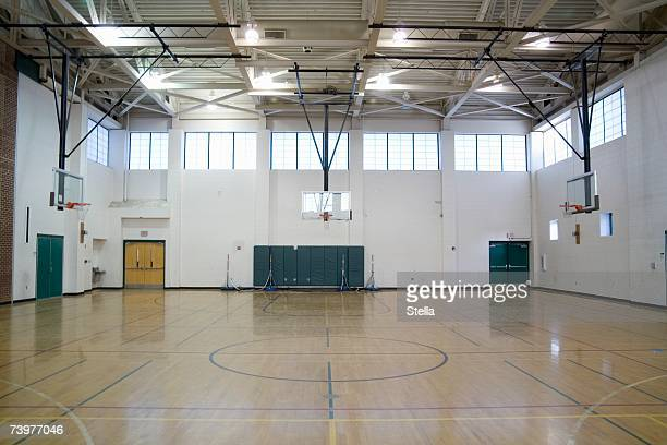 a sports hall - gym stock pictures, royalty-free photos & images