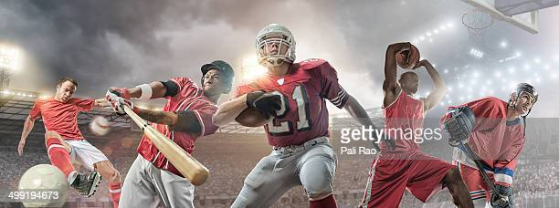 sports heroes - american football sport stock pictures, royalty-free photos & images