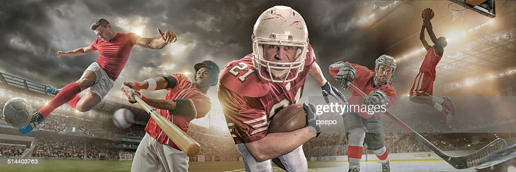 Sports Heroes : Stock Photo