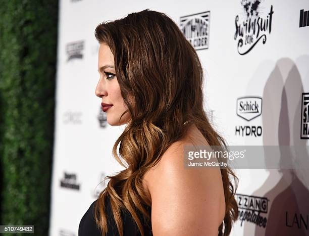 Sports Illustrated cover model Ashley Graham attends the Sports Illustrated Swimsuit 2016 NYC VIP press event on February 16 2016 in New York City