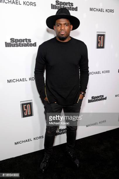 Sports Illustrated Fashionable 50 honoree P K Subban at Sports Illustrated 2017 Fashionable 50 Celebration at Avenue on July 18 2017 in Los Angeles...