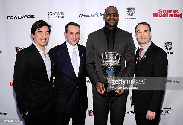 Sports Illustrated Managing Editor Chris Stone 2011 Sports Illustrated Sportsman of the Year Mike Krzyzewski 2012 Sports Illustrated Sportsman of the...