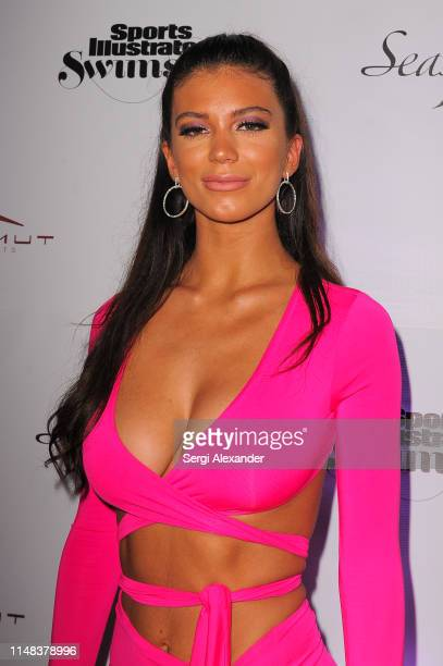 Sports Illustrated model Erin Willerton attends SI Swimsuit On Location after party at Seaspice on May 10 2019 in Miami Florida