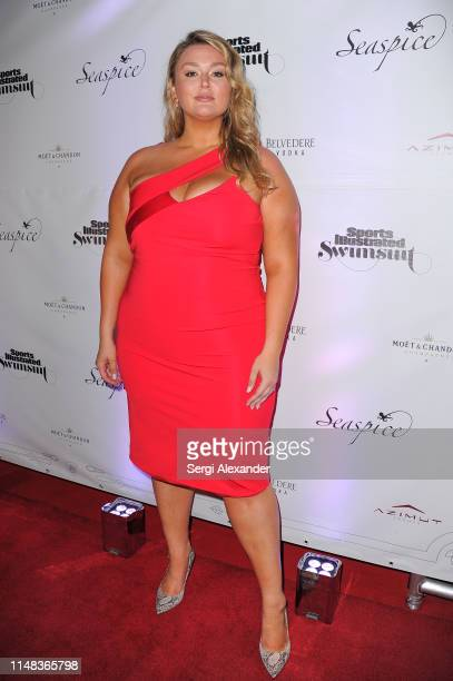 Sports Illustrated model Hunter Mcgrady attends SI Swimsuit On Location after party at Seaspice on May 10 2019 in Miami Florida