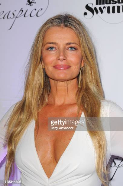 Sports Illustrated model Paulina Porizkova attends SI Swimsuit On Location after party at Seaspice on May 10 2019 in Miami Florida