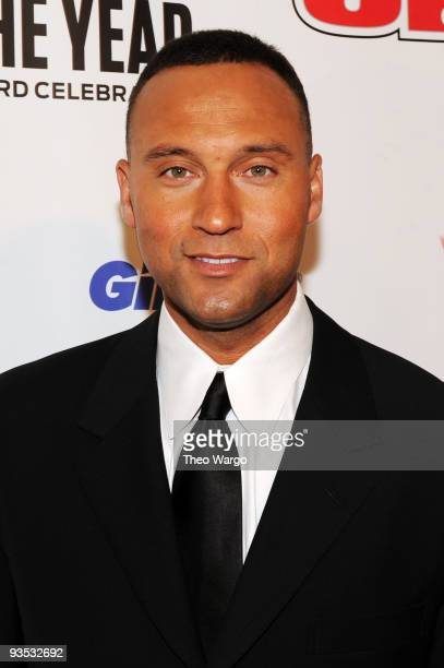 Sports Illustrated Sportsman of the Year Derek Jeter attends the 2009 Sports Illustrated Sportsman of the Year Celebration at The IAC Building on...