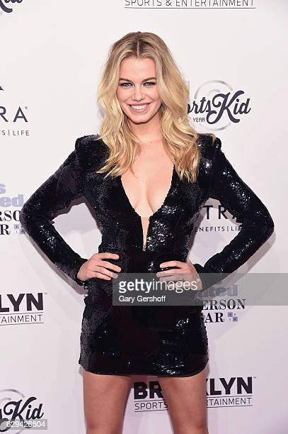 Sports Illustrated Swimsuit cover model Hailey Clauson attends the 2016 Sports Illustrated Sportsperson of the Year at Barclays Center of Brooklyn on...