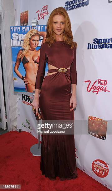 Sports Illustrated swimsuit model Cintia Dicker attends SI Swimsuit Launch Party Hosted by Crimson at Crimson on February 14 2012 in New York City