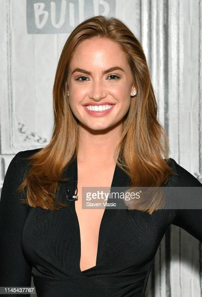 Sports Illustrated Swimsuit model Haley Kalil visits Build Brunch at Build Studio on May 21 2019 in New York City