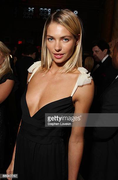 Sports Illustrated swimsuit model Jessica Hart attends the Chocolat au Vin benefit for St Jude's Children's Research Hospital at Capitale on May 28...