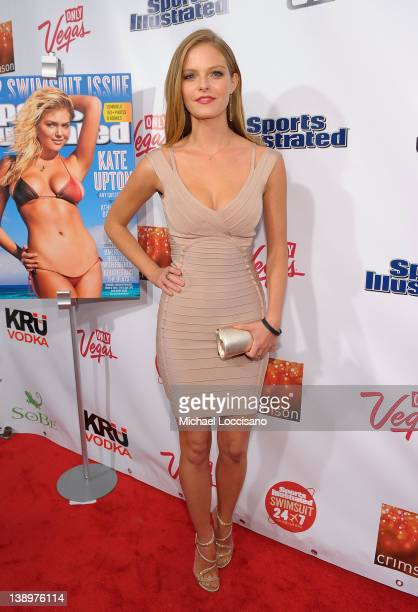 Sports Illustrated Swimsuit model Jessica Perez attends SI Swimsuit Launch Party Hosted by Crimson at Crimson on February 14 2012 in New York City