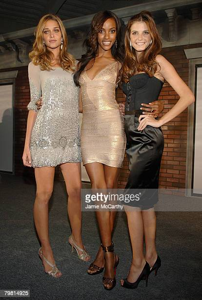 Sports Illustrated Swimsuit models Ana Beatriz BarrosQuiana Grant and Jeisa Chiminazzo attend The Sports Illustrated Unveils 2008 Swimsuit Issue...