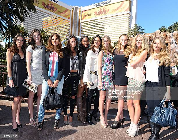 Sports Illustrated swimsuit models Zoe Duchesne Hilary Rhoda Jessica Gomes Christine Teigen Damaris Lewis Daniella Sarahyba Julie Henderson Anne V...