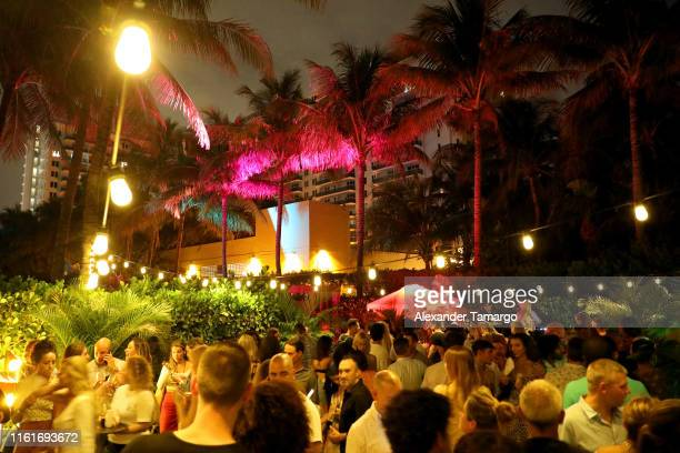 Sports Illustrated Swimsuit x W South Beach Host Miami Swim Week Kickoff Party at W Hotel on July 12 2019 in Miami Florida