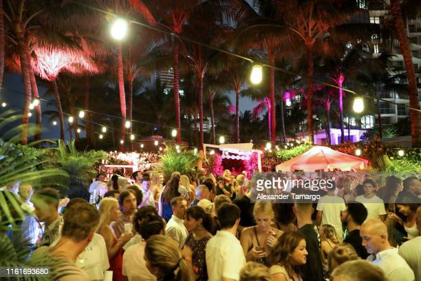 Sports Illustrated Swimsuit x W South Beach Host Miami Swim Week Kickoff Party at W Hotel on July 12, 2019 in Miami, Florida.