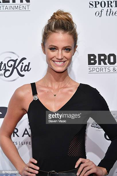 Sports Illustrated Swmsuit Model Kate Bock attends the Sports Illustrated Sportsperson of the Year Ceremony 2016 at Barclays Center of Brooklyn on...