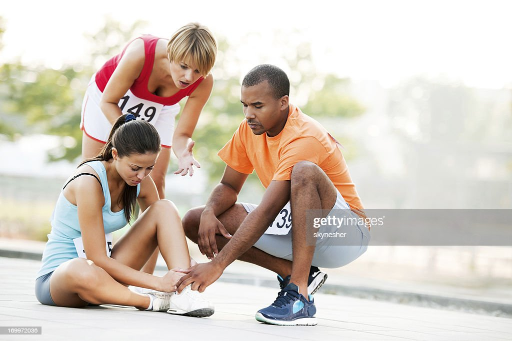 Sports injury : Stock Photo