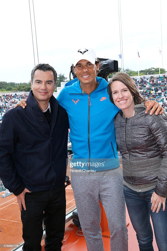 Celebrities At French Open 2015  - Day Eight : News Photo