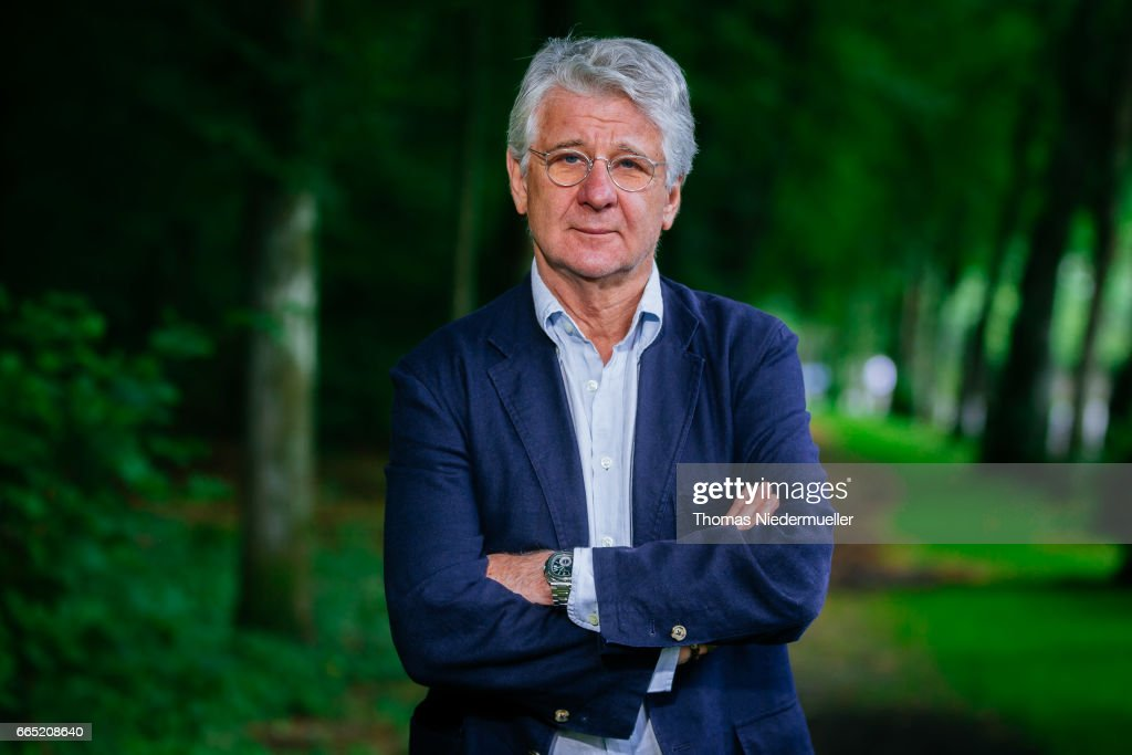 Sports Journalist Marcel Reif Poses During A Portrait Session On July   In Munich