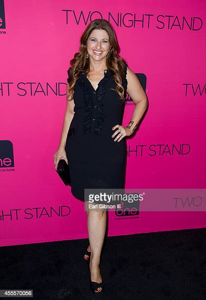 Sports Journalist Rachel Nichols attends eOne Films Two Night Stand at TCL Chinese 6 Theatres on September 16 2014 in Hollywood California