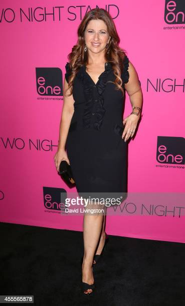 Sports journalist Rachel Nichols attends the premiere of eONE Films' Two Night Stand at the TCL Chinese 6 Theatres on September 16 2014 in Hollywood...