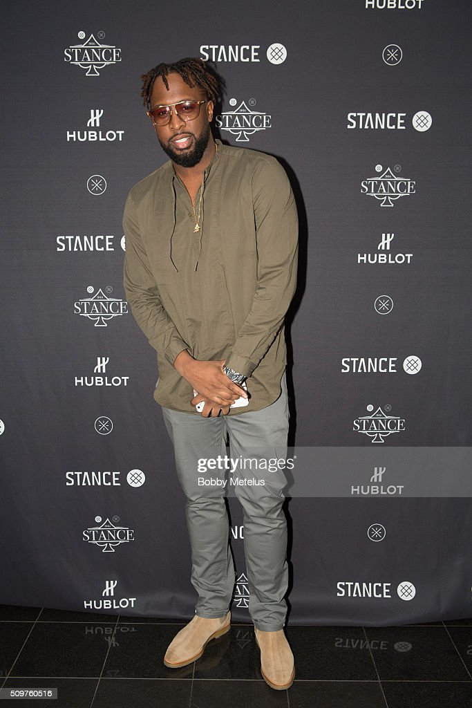 Sports Lifestyle Host Lance Fresh at red carpet during the Dwyane Wade and Stance Stocks Spades Tournament at The One Eighty on February 11, 2016 in Toronto, Canada.