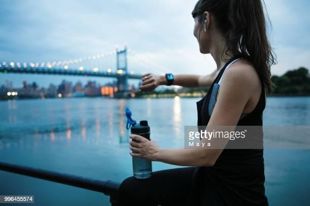 esportes faz-me sentir poderosa - east harlem - fotografias e filmes do acervo