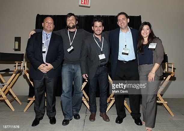 FOX Sports Media Group Senior Vice President of Original Programming Michael Bloom Mess Media Founder Scott Messick Spike TV Original Programming...