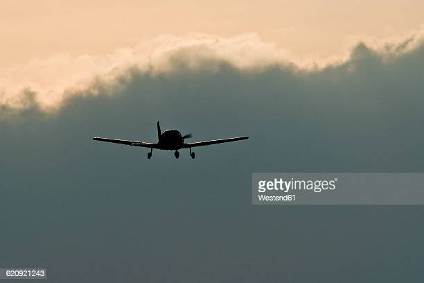 Sports plane, Piper, thundercloud