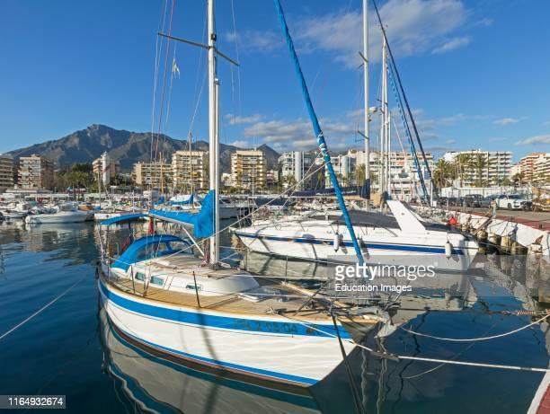 Sports Port Puerto Deportivo Marbella Costa del Sol Malaga Province Andalusia southern Spain