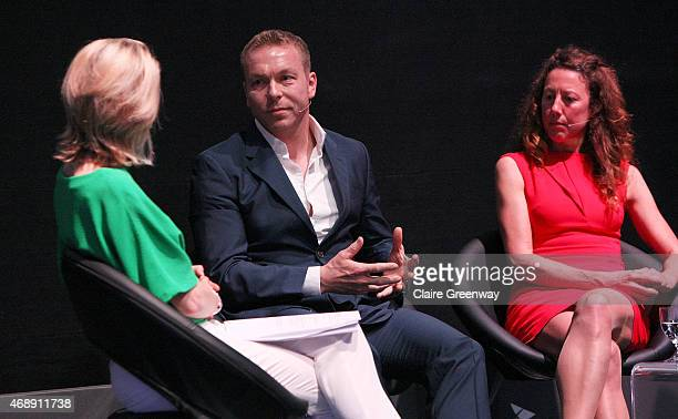 Sports Presenter Jacqui Oatley speaks to Sir Chris Hoy MBE and former professional triathlete and fourtime Ironman Triathlete World Champion Chrissie...