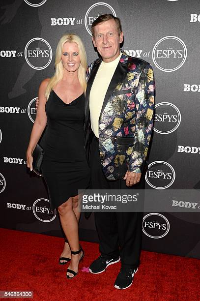 Sports reporter Craig Sager and Stacy Sager at the BODY at ESPYS Event on July 12th at Avalon Hollywood