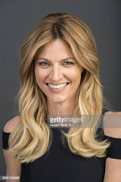 Sports reporter Erin Andrews is photographed for Sports Illustrated on January 17 2017 at Quixote Studios in West Hollywood California PUBLISHED...