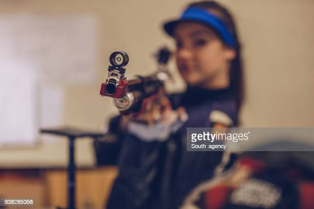 Sports rifle training