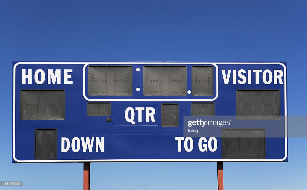 Sports scoreboard : Photo